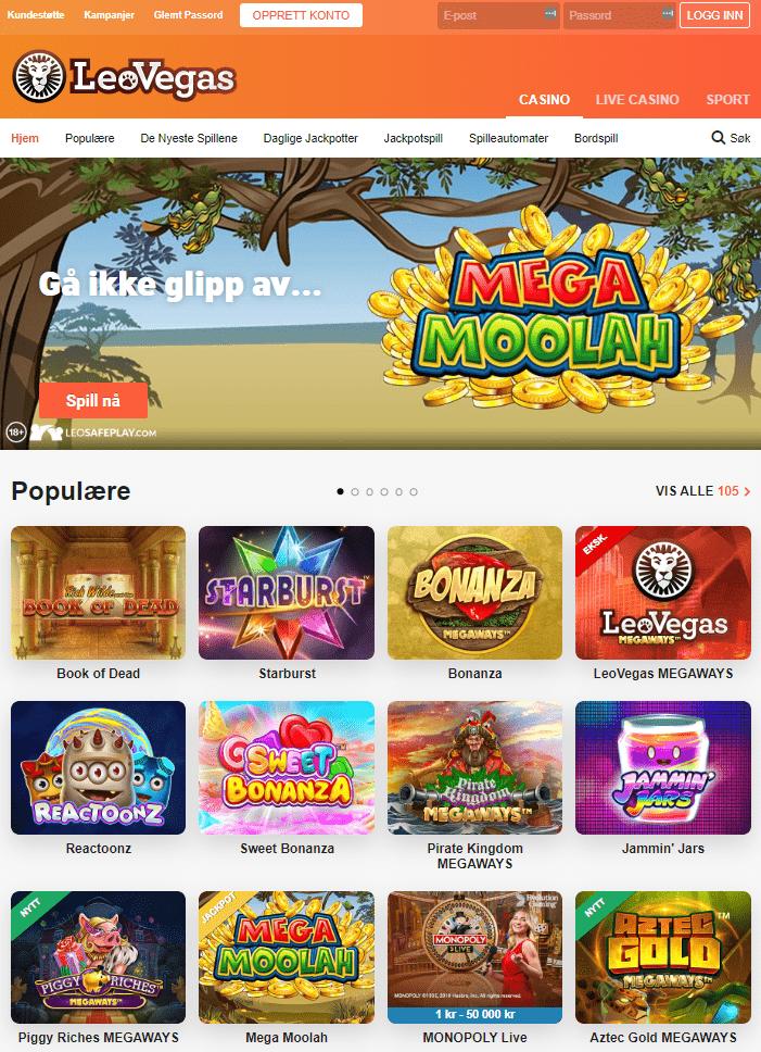 casinospill LeoVegas