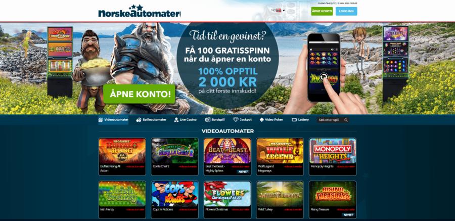 casinospill NorskeAutomater