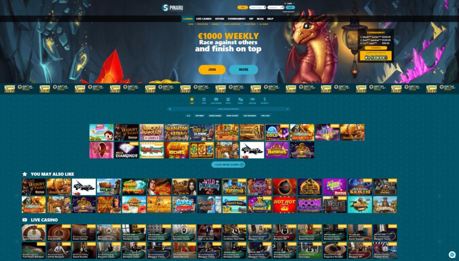 Casinospill Spinaru Casino