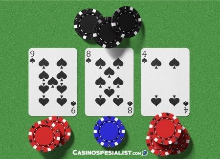 Tre Kort Poker