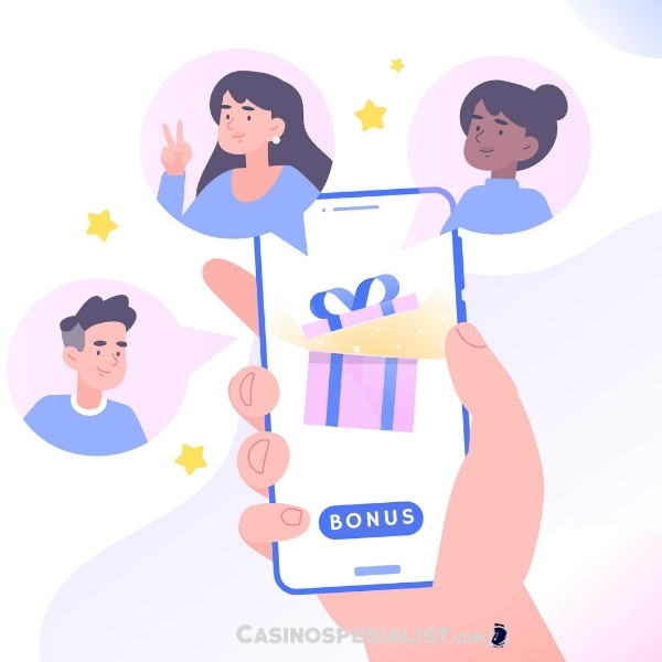Få bonus når du inviterer venner